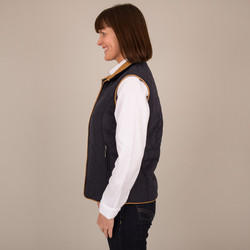 Corduroy Diamond Gilet - Side