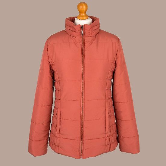 Plain mango hooded jacket