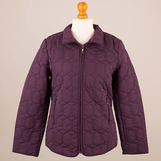 Plain purple diamond jacket