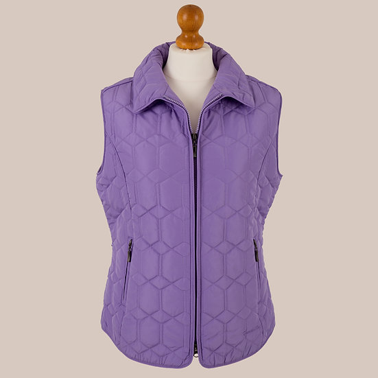 Diamond Gilet - Bourganvillea
