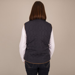 Corduroy Diamond Gilet - Back