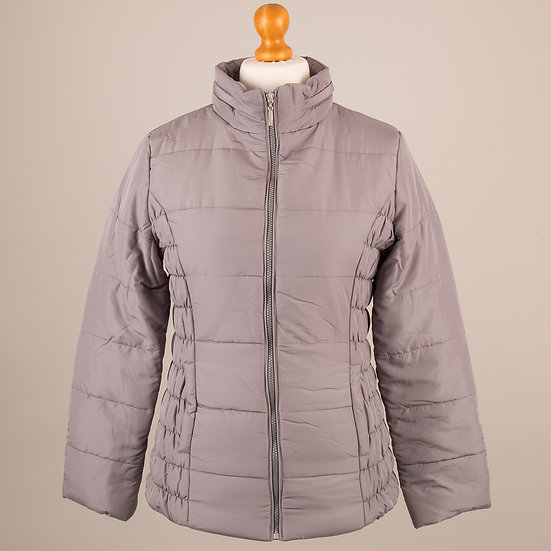 Hooded Jacket - Silver Plain