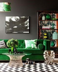 5 Unique Ways to Bring GREEN (Color) Into Your Interiors