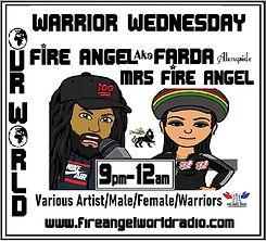 #FFAMFA& 9pm -12am #WARRIOR WEDNESDAY#20