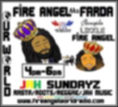 #FA aka F&LFA 4pm-6pm #JAH#SUNDAY#2020##