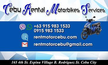 Cebu Renatal Motorbike Services