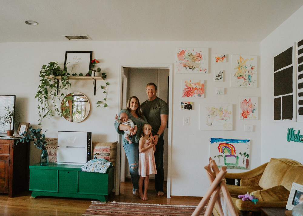 Whidbey Island Photographer- In Home