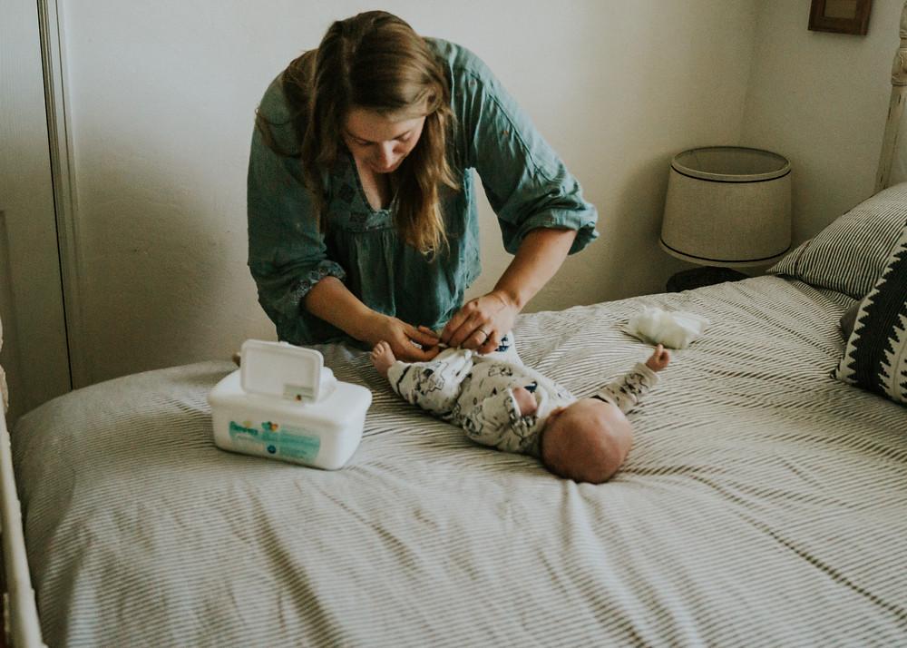 Whidbey Island Photographer- Newborn