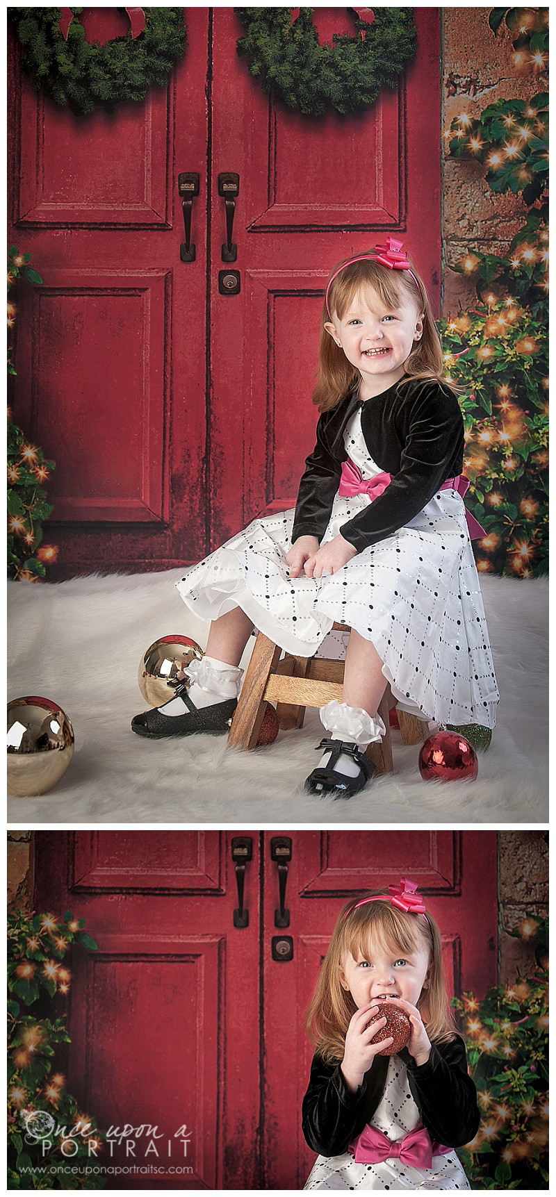 Christmas Holiday Family Portraits in Simpsonville | Simpsonville South Carolina