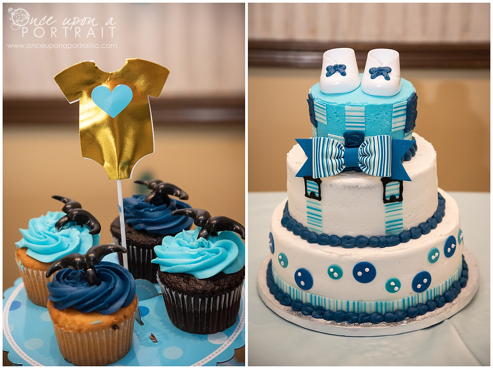 Hindu baby shower cake cupcakes boy