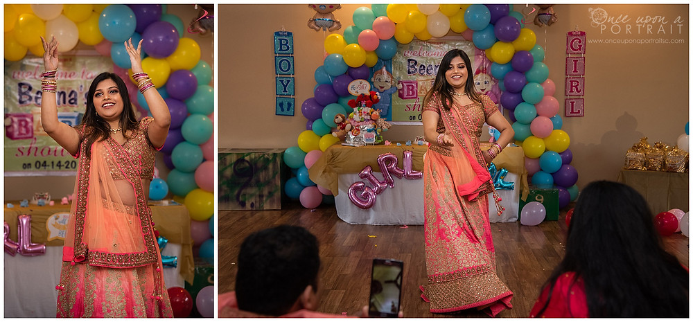 Dohale Jevan Godh Bharai baby shower saree party games dancing
