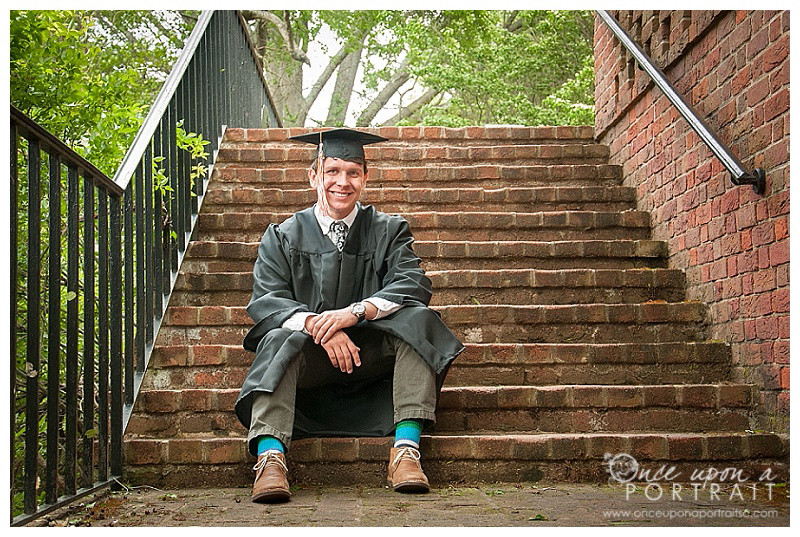 Furman University senior portrait photographer