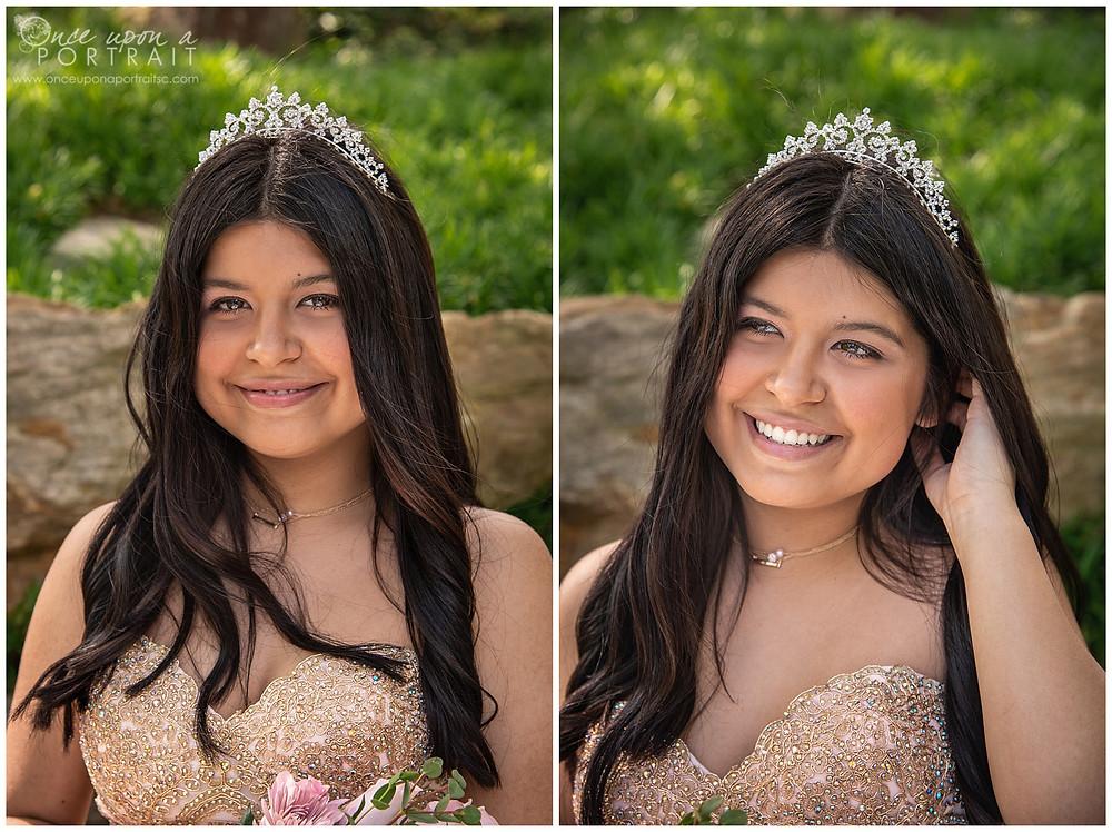 Falls Park Quinceañera 15 sweet sixteen 16 princess tiara