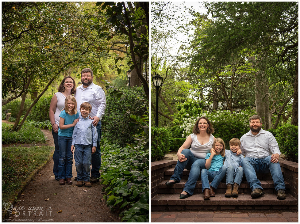 Baker Family | Lace House Family Session in Columbia, South Carolina