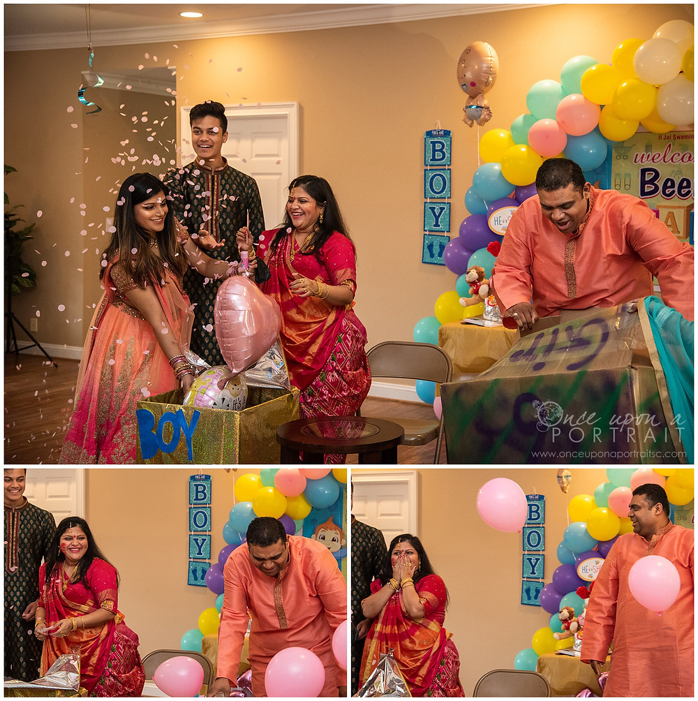 Dohale Jevan Godh Bharai baby shower saree party gender reveal