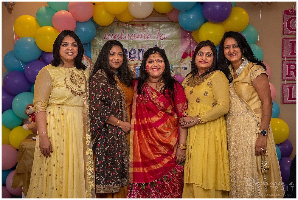 Dohale Jevan Godh Bharai baby shower saree party games