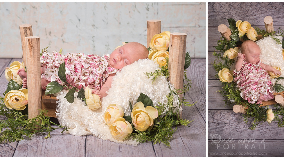 Baby Synova | Newborn Preemie Portraits in Simpsonville, South Carolina