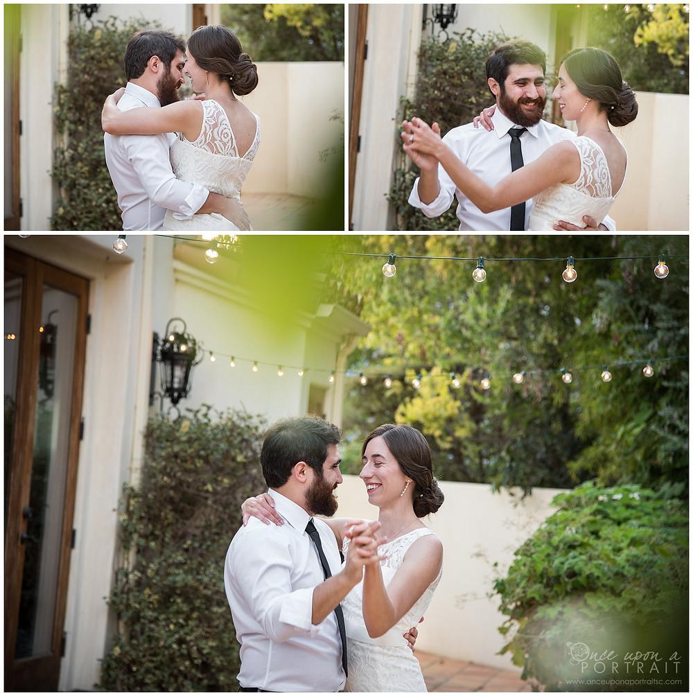 first dance husband wife bride groom reception celebrate