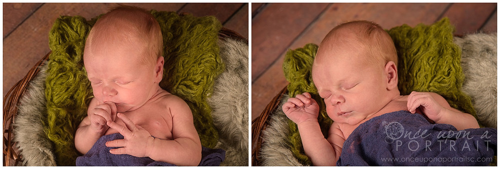 fall theme newborn session baby boy leaves leaf burlap warm fuzzy