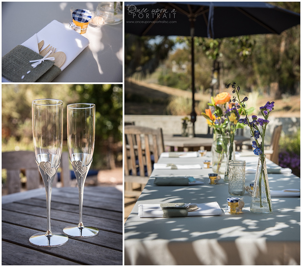intimate wedding malibu beach california LA los angeles reception details