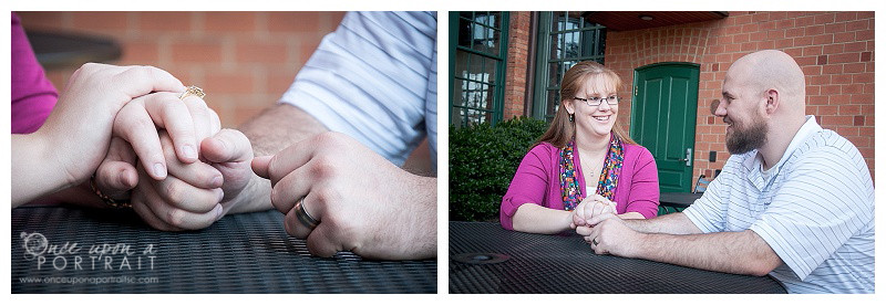 Downtown Greenville South Carolina family portrait photographer