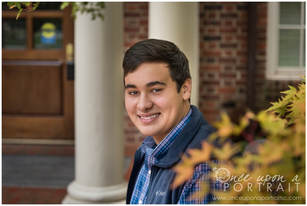High School Senior Session at Furman University in Greenville | Simpsonville South Carolina