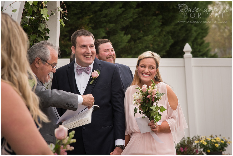 James & Tonya | Private and Cozy Wedding in Simpsonville, South Carolina
