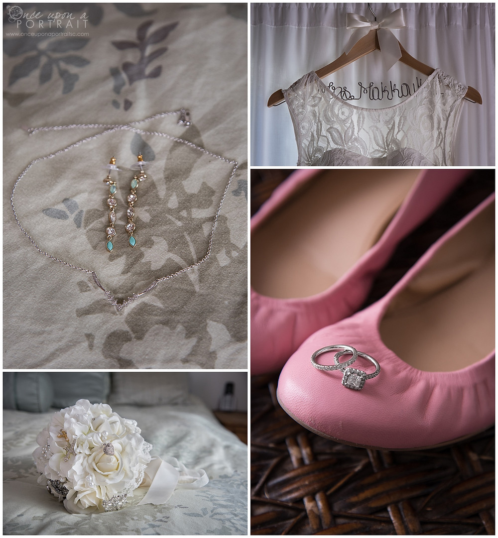 intimate wedding malibu beach california LA los angeles jewelry dress rings shoes bouquet