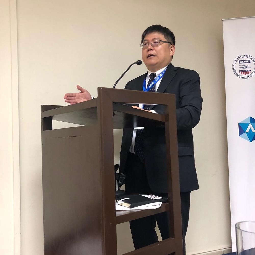 Doctor Hung-En Sung, Director de la Academia para el Análisis de Seguridad, de la Universidad John Jay de Justicia Penal de Nueva York.