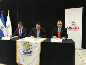 ANSP, USAID y John Jay College firman acuerdo para promover capacitación en prevención del crimen