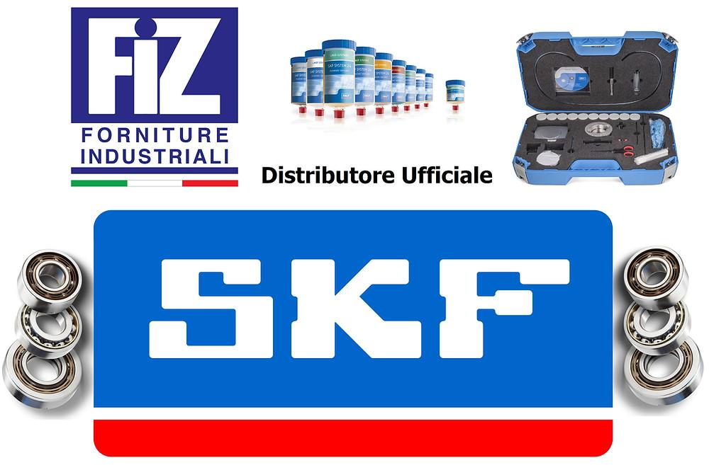 SKF cuscinetti a sfere rulli conici grassi lubrificanti distributore ufficiale   FIZ Srl forniture industriali Verona