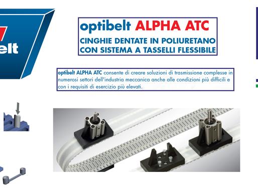 Novità Optiblet: nuove Cinghie in poliuretano Alpha ATC