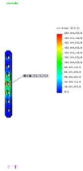 FEM解析 エンプティープレートホール1穴