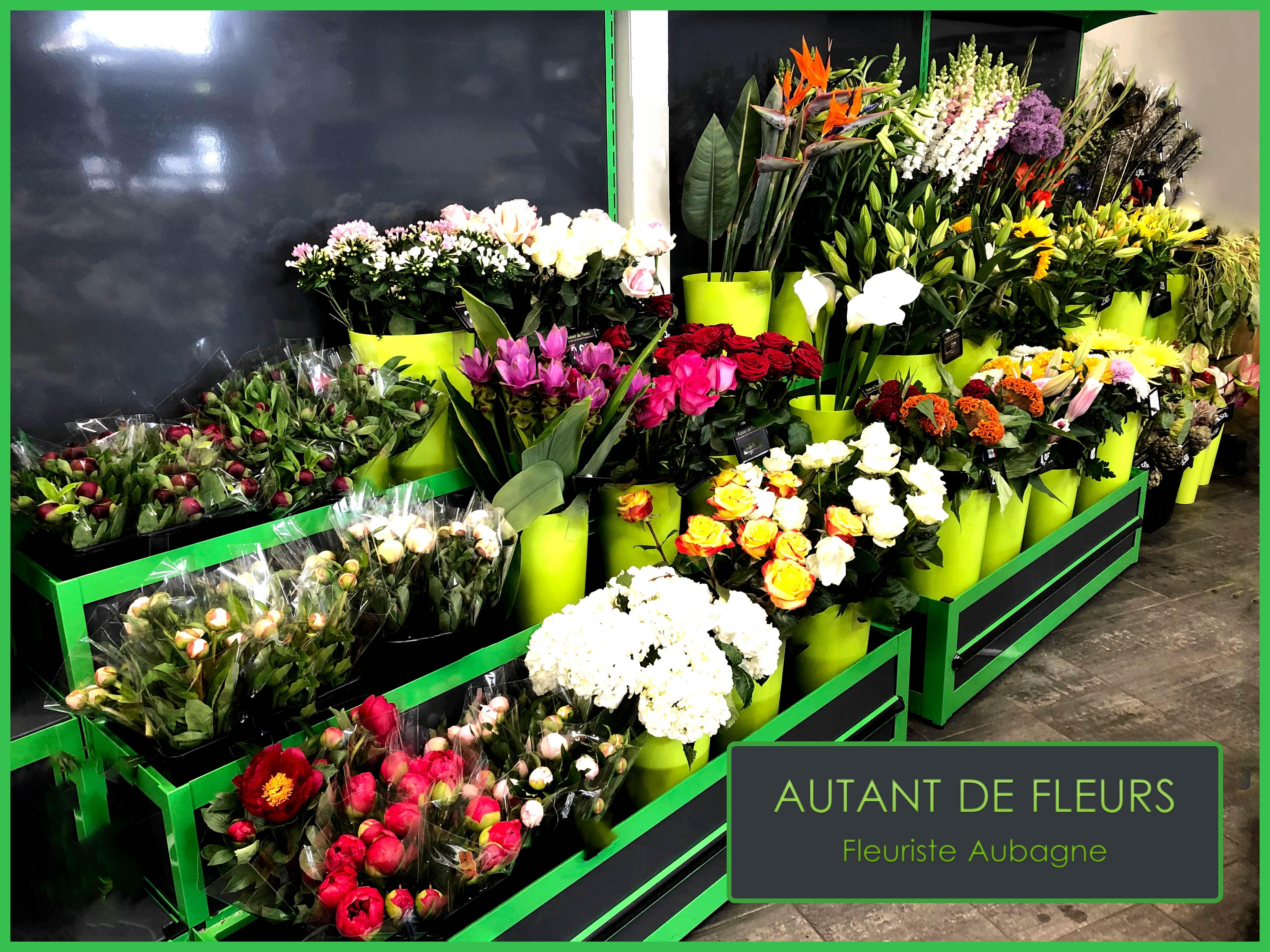 Autant de Fleurs fleuriste Aubagne