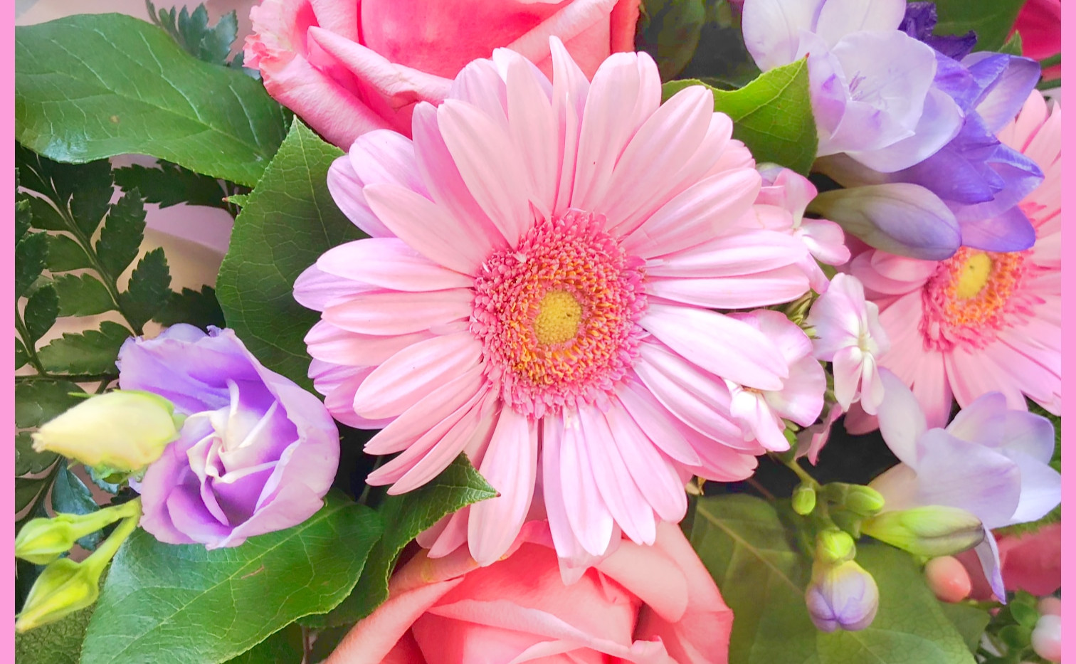 Bouquet Rose Autant de Fleurs Aubagne