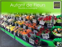 Fleurs en libre accès