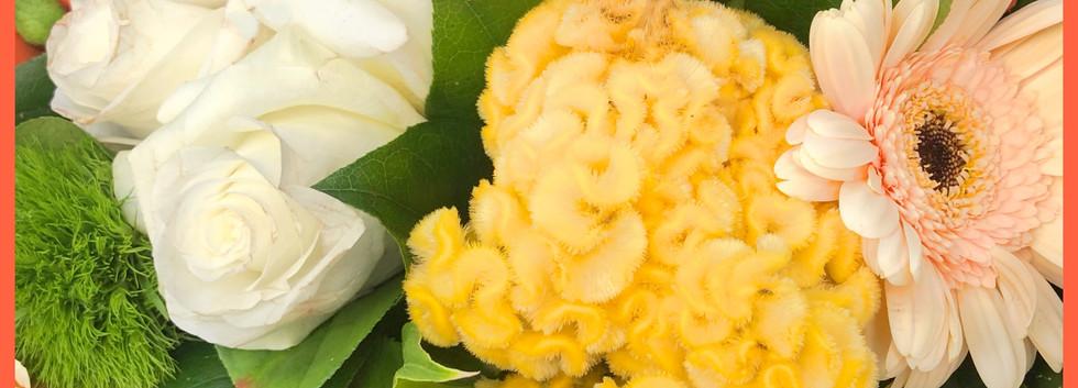 Bouquet jaune_orange_autant_de_fleurs_au