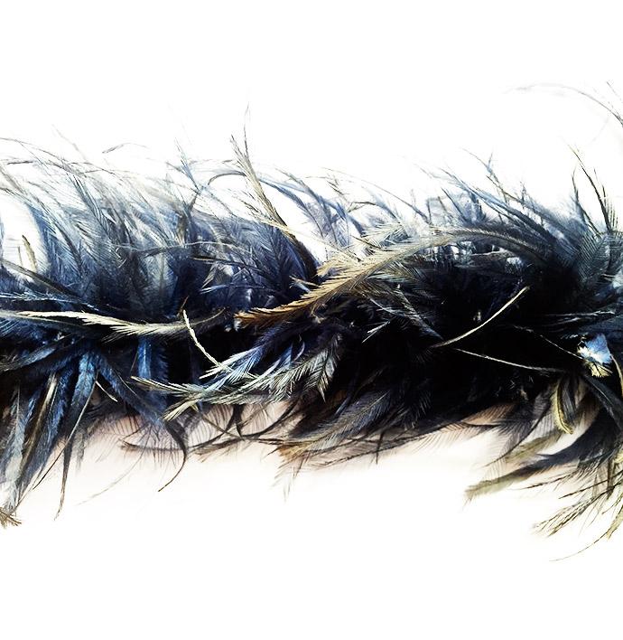 Emu feathers boa