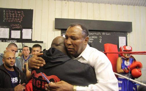 Rahman Ali, Muhammed Ali, KO Boxing, Arches, Bethnal Green, London