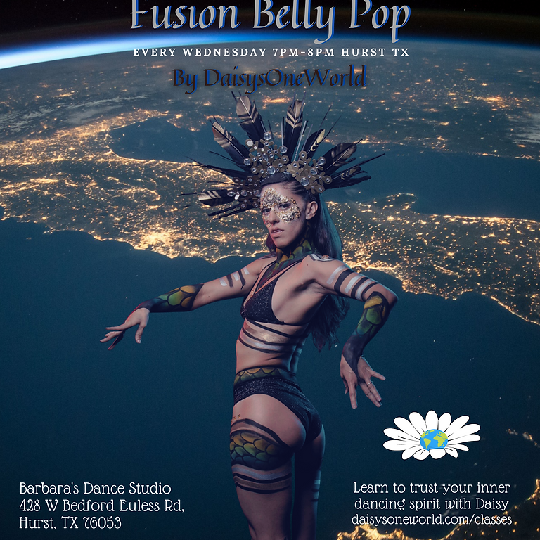 Weekly Fusion Belly Pop Class