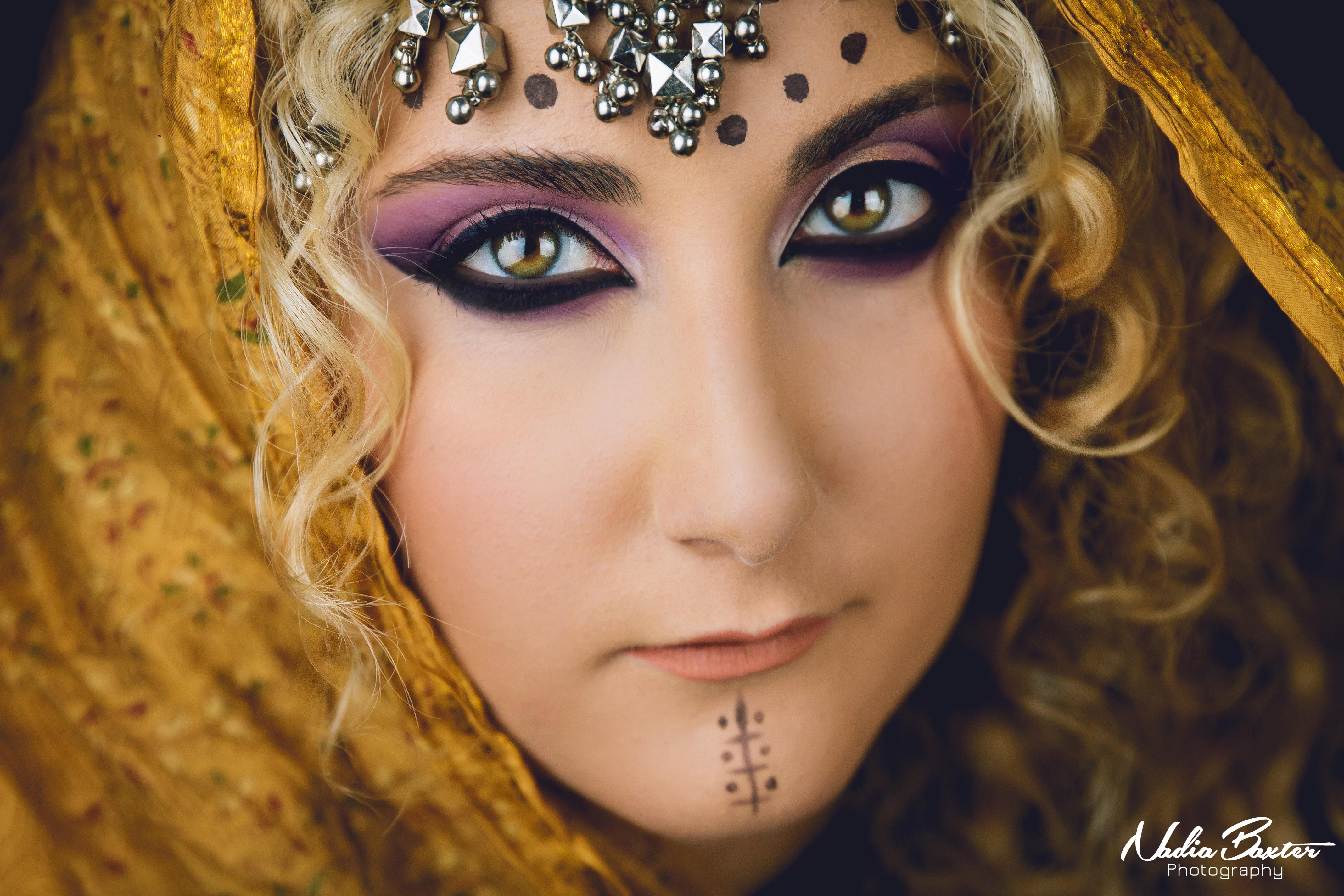 Syrian Goddess Model Shoot