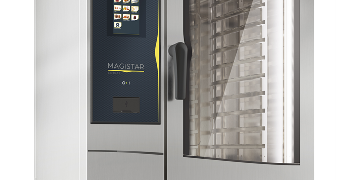 Magistar Combi TS Natural Gas Combi Oven 10GN1/1