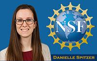 DANIELLE SPITZER RECEIVES PRESTIGIOUS NSF FELLOWSHIP