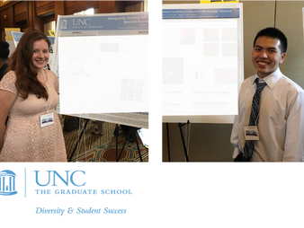 NATHALIE PIEHL AND JASON GUO PRESENT AT THE SUP RESEARCH SYMPOSIUM