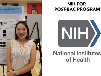 JINA YOM ACCEPTED AT NIH POSTBAC PROGRAM