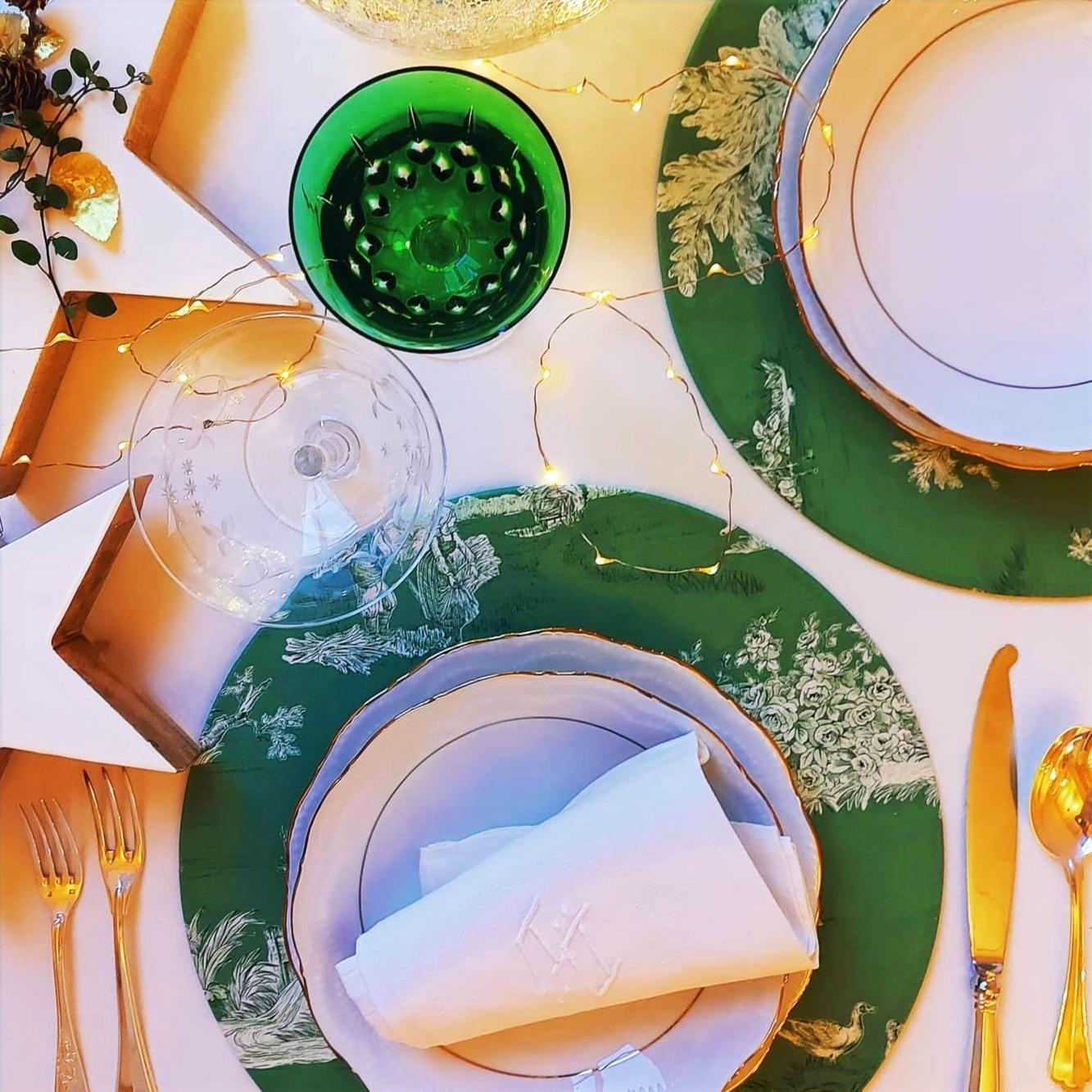 Mytablitas Cotton Toile Green