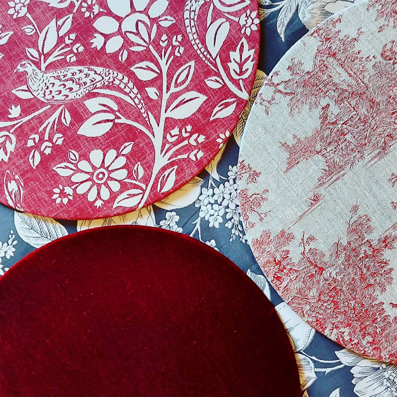Mytablitas Toile de Lin/Velvet/Gardenia/Pheasant