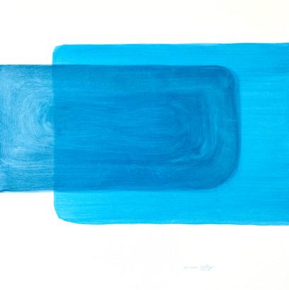 Azul 50X70cm
