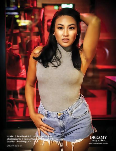 Jennifer Guinto, Financier/Model