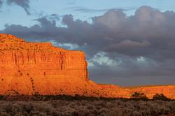 Sunset In Kanab Utah